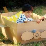 O lume de vis din cutii de carton - 15 idei de la mame creative